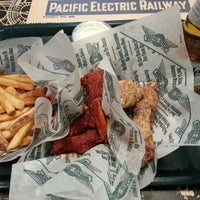 Photo taken at Wingstop by Cam S. on 2/26/2014