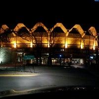 Photo taken at WVU Coliseum by Eduardo C. on 1/18/2013
