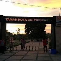 Photo taken at Taman Kota Wonosari by Nurudin J. on 3/1/2014
