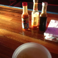 Photo taken at Lucy's Retired Surfers Bar and Restaurant by Lucas C. on 6/5/2013