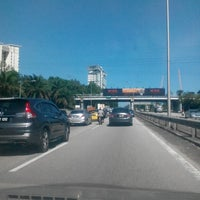Photo taken at East-West Link Expressway by fauzan m. on 1/14/2015