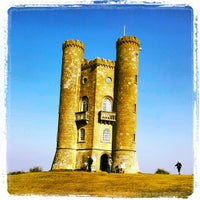 Photo taken at Broadway Tower by David K. on 3/5/2013