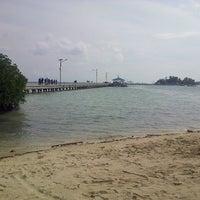 Photo taken at Jembatan Cinta by Herry I. on 5/25/2013