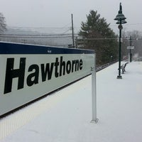 Photo taken at Metro North - Hawthorne Train Station by Trevis D. on 1/10/2014