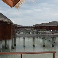 Photo taken at Anantara Veli Lobby by saad 🌠 on 3/7/2014