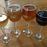 Photo taken at Hair of the Dog Brewery & Tasting Room by Cynthia P. on 3/22/2013