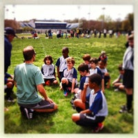 Photo taken at Stoddert Soccer @ Carter Baron Fields by Rachel C. on 4/13/2013