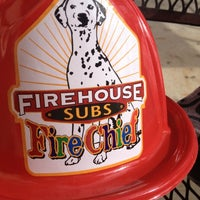 Photo taken at Firehouse Subs by Erica M. on 12/10/2012