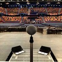 Photo taken at Brisbane Entertainment Centre by Lef C. on 3/16/2013