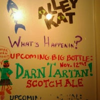 Photo taken at Alley Kat Brewing Company by Live Local A. on 11/6/2012