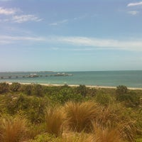 Photo taken at Fort DeSoto State Park by Reilly W. on 6/10/2013