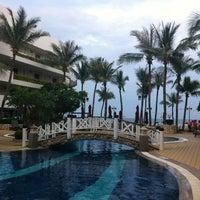 Photo taken at Imperial Hua Hin Beach Resort by Kawaii L. on 11/16/2012