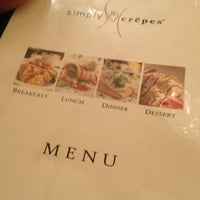 """Photo taken at Simply Crepes by Stephen """"SiiiCk"""" C. on 10/27/2012"""