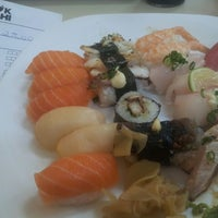 Photo taken at Wok Sushi by Wagner R. on 5/7/2013