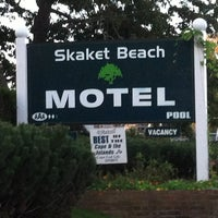 Photo taken at Skaket Beach Motel by Paul N. on 9/20/2012
