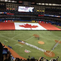 Photo taken at Rogers Centre by Jon F. on 4/3/2013