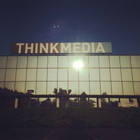 Photo taken at Think Media by Jef D. on 9/24/2013