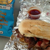Photo taken at Thousand Oaks Meat Locker by Laura H. on 6/20/2015