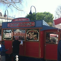 Photo taken at Little Red Wagon Corn Dogs by Arleni A. on 2/23/2013