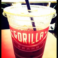 Photo taken at Gorilla Coffee by Akiko S. on 7/18/2013