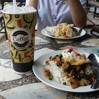 Photo taken at โรงอาหารคณะมนุษย์ฯ มข. by Pongsakorn C. on 9/14/2016
