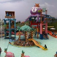 Photo taken at Citra Garden Water Park by Ahmad U. on 12/24/2012