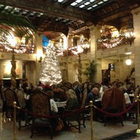 Photo taken at The Davenport Hotel by Bonnie B. on 12/8/2012