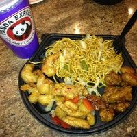 Photo taken at Panda Express Gourmet Chinese Food by Brooks J. on 2/1/2013