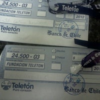 Photo taken at Banco de Chile by Lore Q. on 12/1/2012