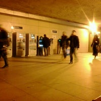 Photo taken at Uzunçayır Metrobüs Durağı by Ahmet Edip T. on 12/31/2012