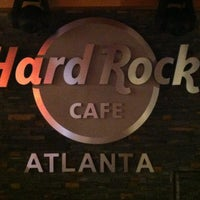 Photo taken at Hard Rock Cafe Atlanta by Ang G. on 11/1/2012