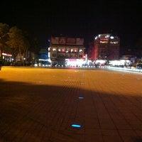 Photo taken at Cumhuriyet Meydanı by Hasan K. on 1/22/2013