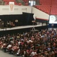 Photo taken at Sam Houston State University by Kim C. on 4/4/2013