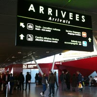 Photo taken at Lille Airport (LIL) by Mod' O. on 10/31/2012