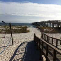 Photo taken at Navarre pier restaurant by David S. on 11/6/2013