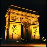 Photo taken at Arc de Triomphe by Michael C. on 5/29/2013