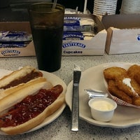 Photo taken at Abe's Hot Dogs by Steve S. on 11/18/2013
