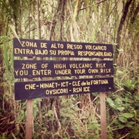 Photo taken at Volcán Arenal by Ryan J. D. on 11/20/2012