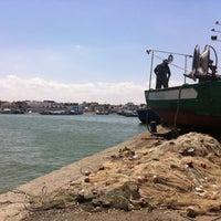 Photo taken at Port de pêche, Sayada by SiriNe S. on 8/12/2015