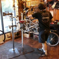 Photo taken at B's Bikes by Kino on 7/27/2014
