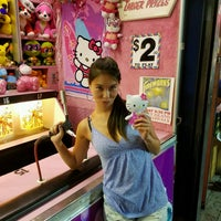 Photo taken at Luna Arcade by Kino on 8/27/2016