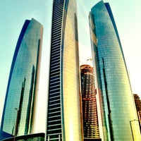 Photo taken at Jumeirah at Etihad Towers by Sal W. on 6/5/2013