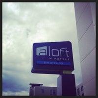 Photo taken at Aloft Chicago O'Hare by Amanda B. on 6/30/2013