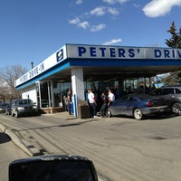 Photo taken at Peters' Drive-In by Grace W. on 3/29/2013