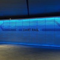 Photo taken at Convention Center Station (DART Rail) by Michael S. on 4/22/2015