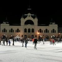 Photo taken at Városligeti Műjégpálya by Barna F. on 2/17/2013