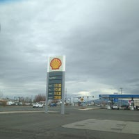 Photo taken at Shell by Judith C. on 12/22/2012