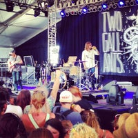 Photo taken at That Tent at Bonnaroo Music & Arts Festival by Doug W. on 6/15/2013