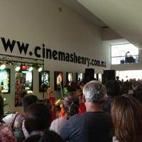 Photo taken at Henry Cinemas by Gustavo M. on 5/30/2013