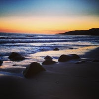 Photo taken at El Capitan State Beach by Adam B. on 3/17/2013
